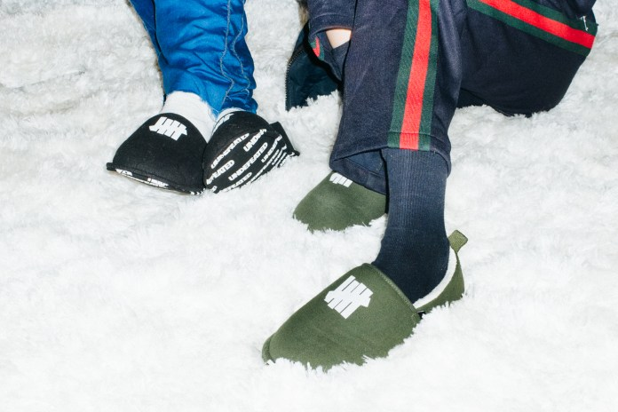 UNDEFEATED Has Created a Duo of House Slippers