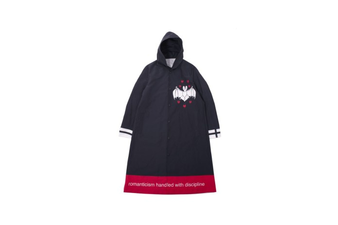 UNDERCOVER's Releases a Graphic Laden Hooded Coat