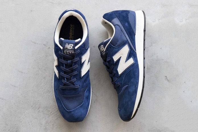 UNITED ARROWS green label relaxing Drops an Exclusive New Balance 996 Model