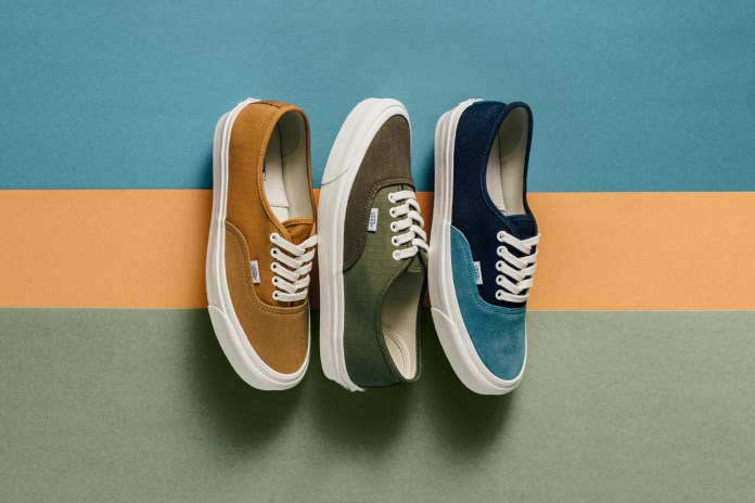 Vans Vault Debuts New Spring Colorways of the OG Authentic LX