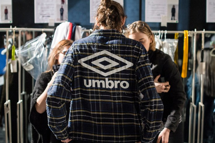 Virgil Abloh's Off-WHITE x Umbro Collaboration Is Available in Stores Now