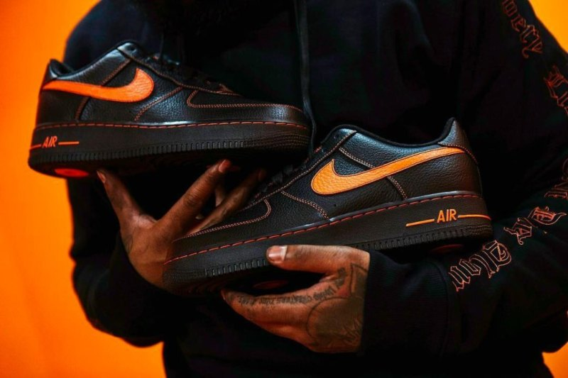 new style 5049d aedb7 One month ago, VLONE founder A AP Bari took to his personal Instagram  account to tease the release of a VLONE-designed version of the iconic low  top.
