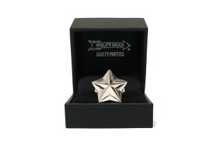 WACKO MARIA & WOLF'S HEAD Release a Collection of Star Rings