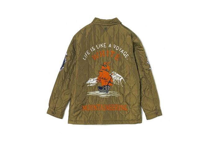 White Mountaineering Nautical-Themed Souvenir Jacket