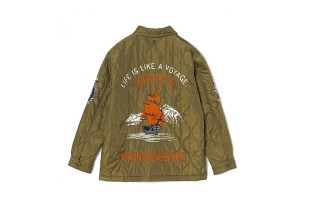 White Mountaineering Nautical-Themed Souvenir Jacket