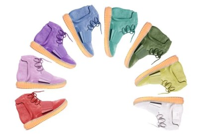 The YEEZY BOOST 750 Rainbow Fantasy Pack