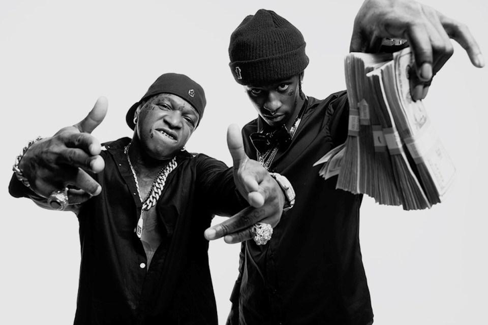 """Watch Young Thug & Birdman Flaunt Cash-Covered Bentley Bentayga in """"Bit Bak"""" Video"""