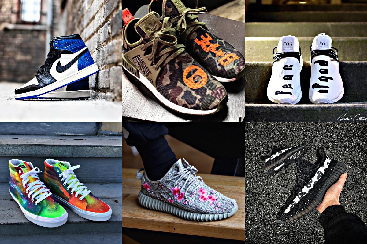 Custom Sneakers Instagram - 3752156