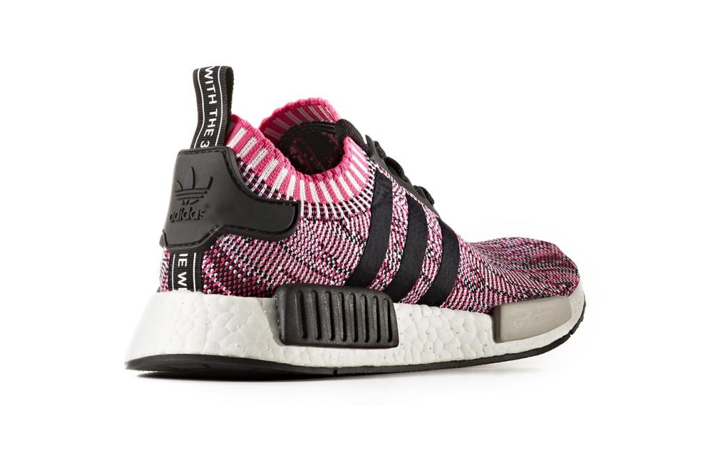 adidas NMD R1 Primeknit Glitch Camo Sneakers - 3747443
