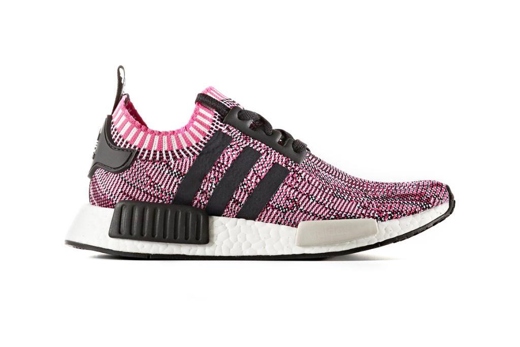 adidas NMD R1 Primeknit Glitch Camo Sneakers - 3747444