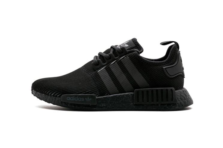 """The adidas NMD_R1 Switches up Its """"Triple Black"""" Motif"""