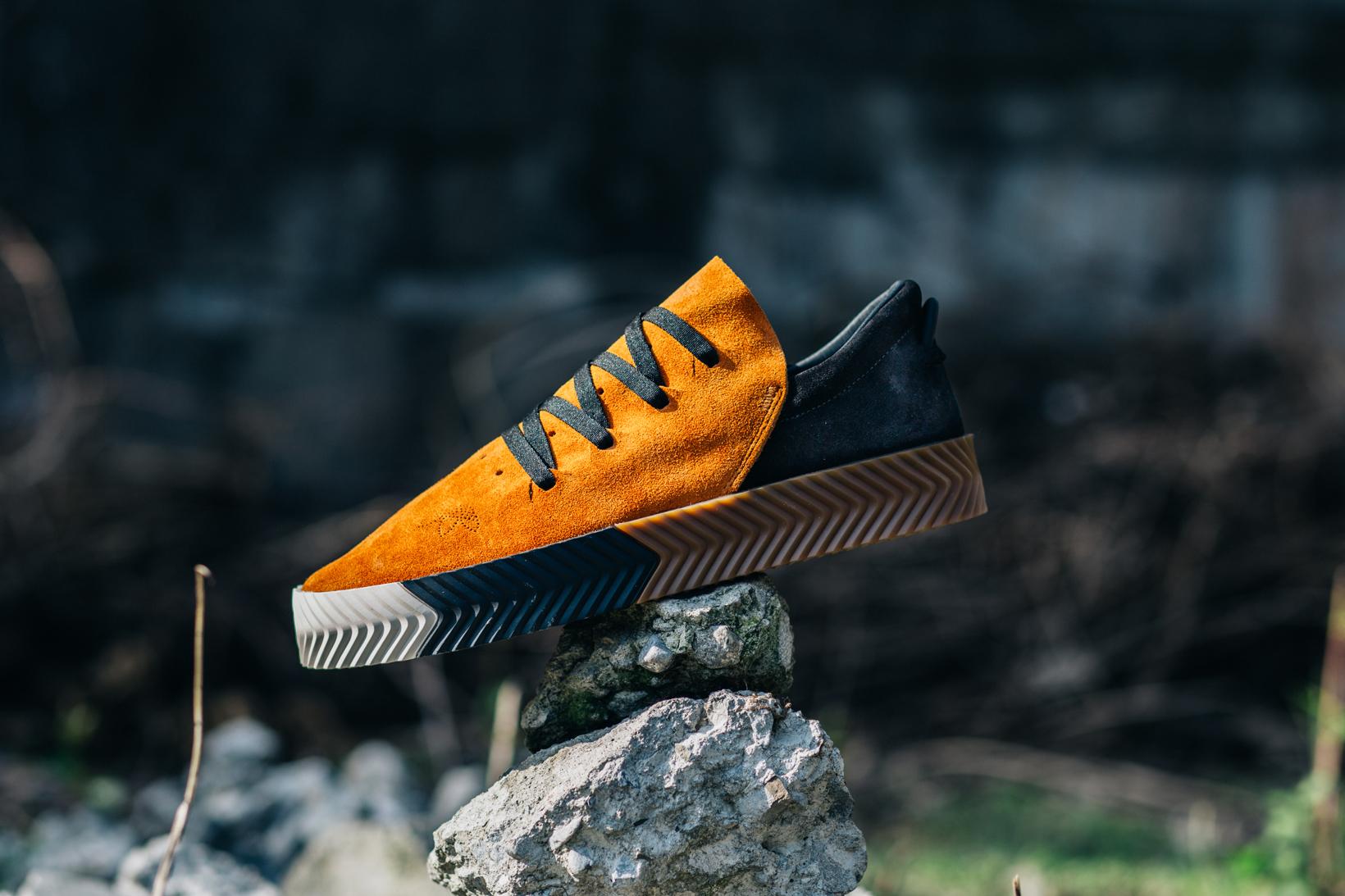 adidas Originals by Alexander Wang Drop 3 Skate Orange Profile