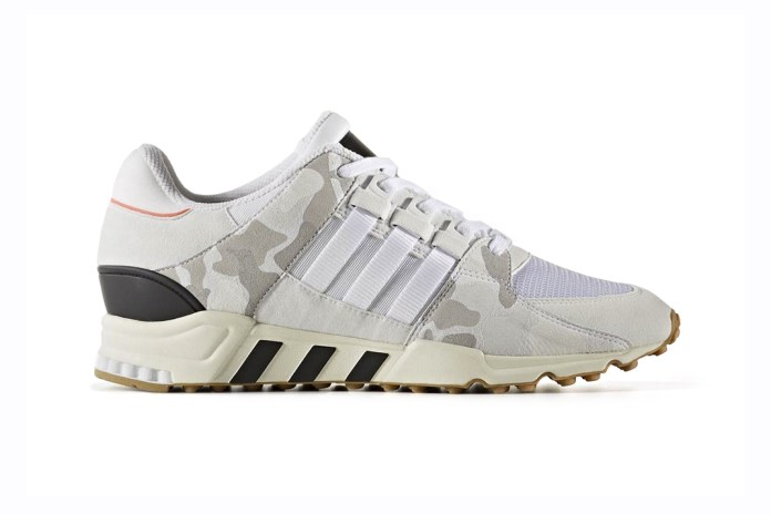adidas Originals EQT Support 93 Gets Hit With Turbo Red and Camo