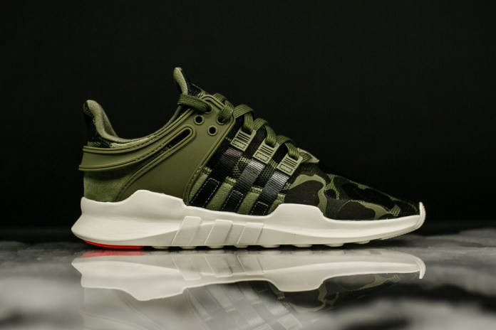 adidas' Camo Pack of EQT Support ADVs Is Here