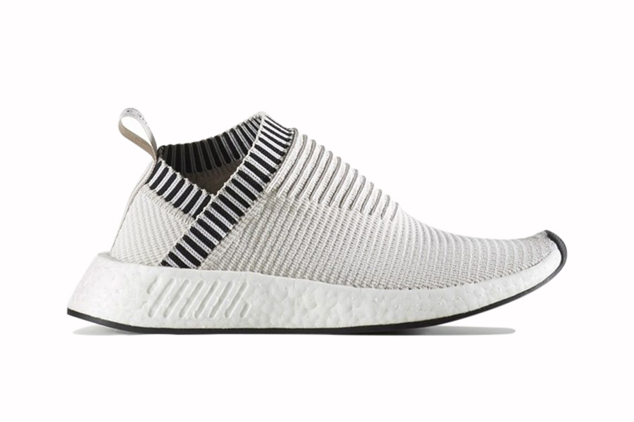 adidas Originals NMD CS2 2017 Spring Summer Beige Blue Circle BOOST midsole Three Stripes Germany - 3745369