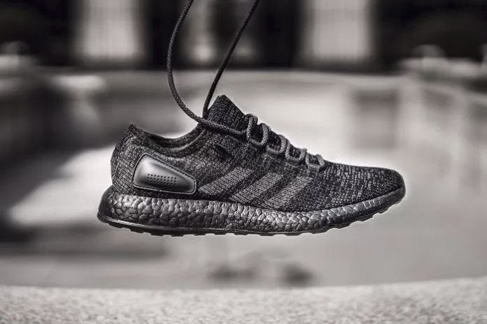 "adidas Drops a ""Triple Black"" PureBOOST LTD"