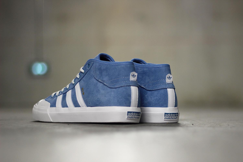 adidas Skateboarding Marc Johnson Matchcourts Blue White - 3755858