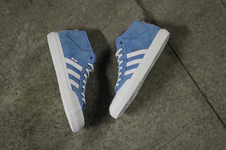 adidas Skateboarding Marc Johnson Matchcourts Blue White - 3755859