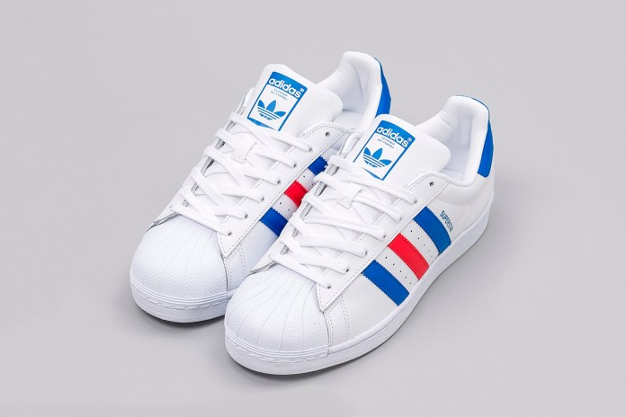 "adidas Releases a Classic Red, White and Blue ""Tri-Color"" Superstar"