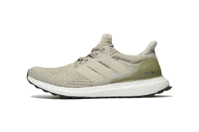 adidas Drops Its Grey & Olive UltraBOOST 3.0
