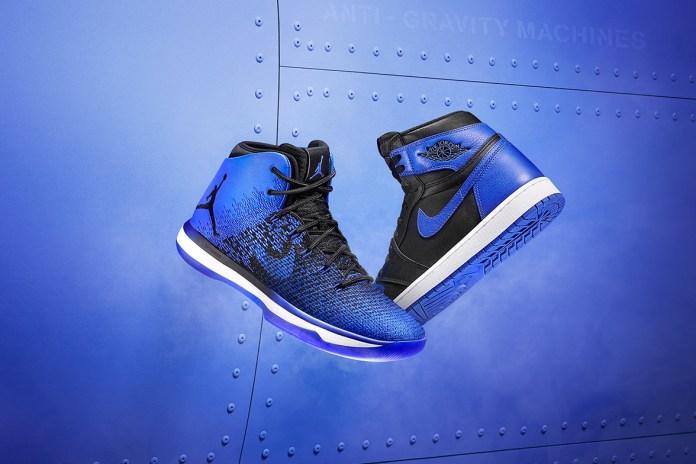 "Jordan Brand Reveals ""Royal"" Air Jordan 1 & 31 as a Part Of ""Flight Guy"" Collection"