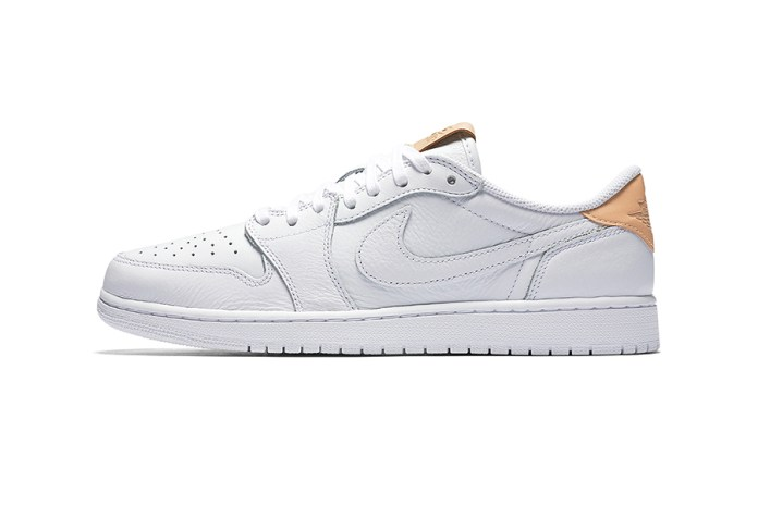 "The Latest Addition to the Air Jordan 1 Low OG Premium ""Vachetta Tan"" Pack"