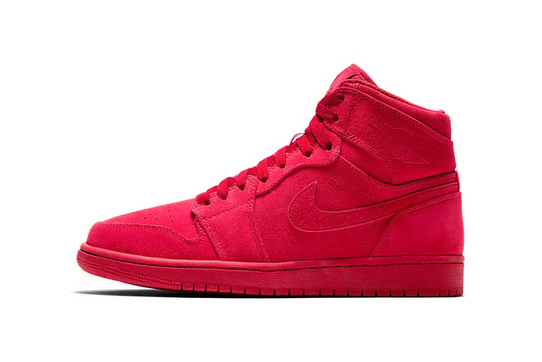 Air Jordan 1 Suede Blue Red - 3751547