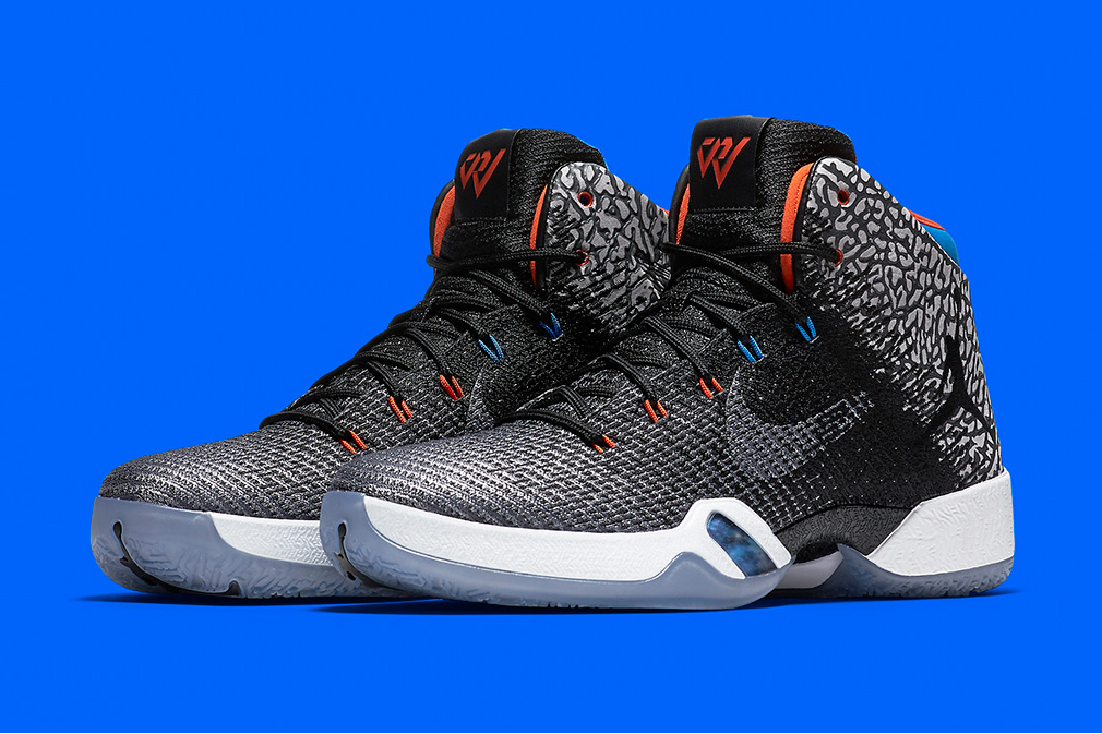 "Russell Westbrook's Air Jordan XXX1 ""Why Not?"" Release Date Elephant Print Basketball Oklahoma City Thunder - 3772326"