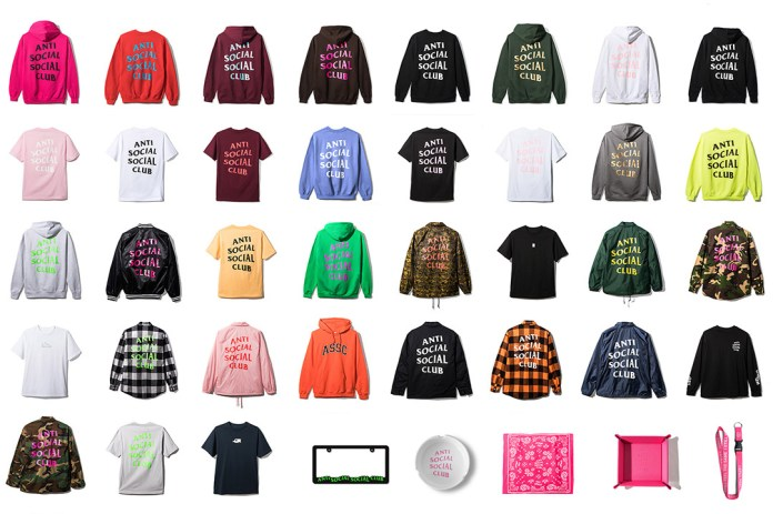 Here's Every Piece from Anti Social Social Club's 2017 Spring/Summer Collection