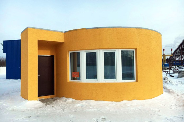 San Francisco Startup Apis Cor 3D-Printed a House in Less Than 24 Hours