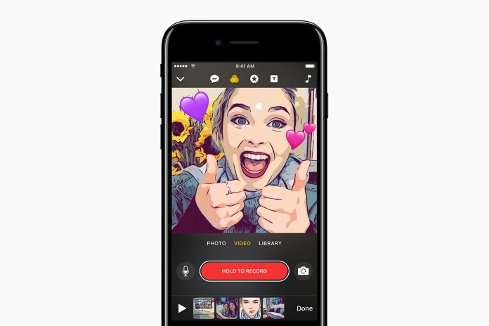 Apple Takes on Snapchat & Instagram With Its New Clips App