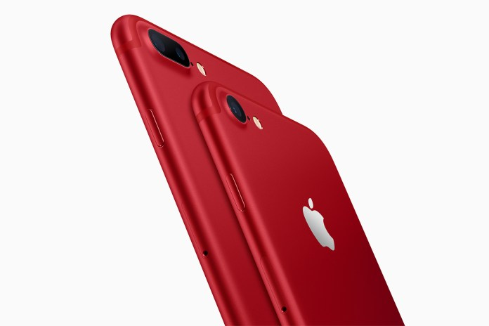 Apple Introduces Its Special Edition PRODUCT(RED) iPhone 7 & 7 Plus