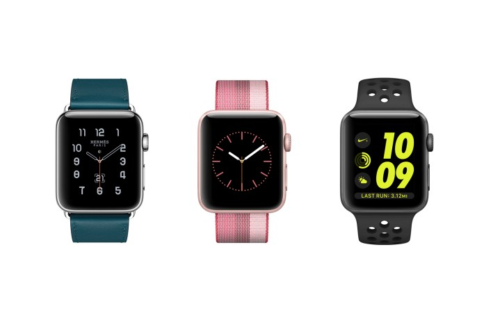 The Apple Watch Receives New Hermès, Striped Woven Nylon and Nike Sport Bands