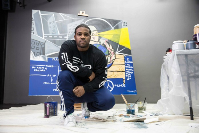 A$AP Ferg Donating A$AP Yams Mural for Upcoming Charity Art Auction