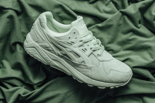 "ASICS Drops Its Monochromatic ""Bay"" GEL-Kayano Trainer"