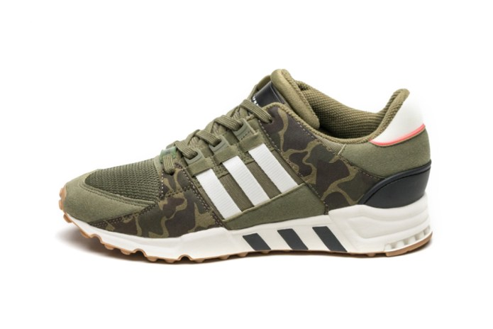 adidas Dresses the EQT Support RF in Olive Camo