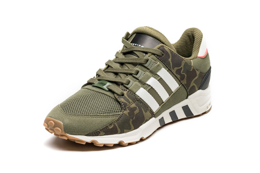 adidas Originals EQT Support RF Olive Camo Footwear Sneakers Shoes - 3760760