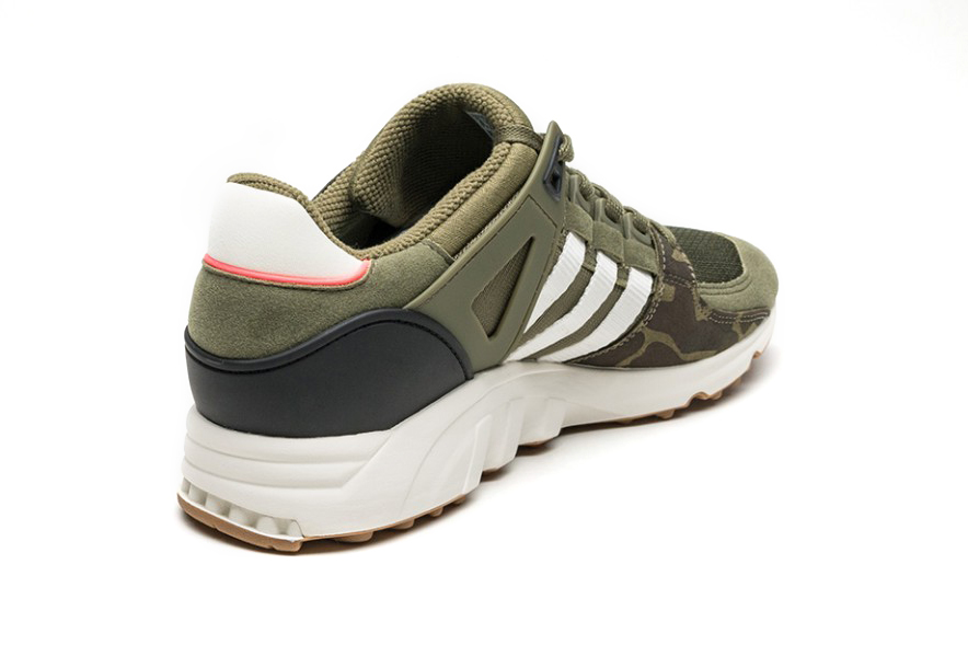 adidas Originals EQT Support RF Olive Camo Footwear Sneakers Shoes - 3760761