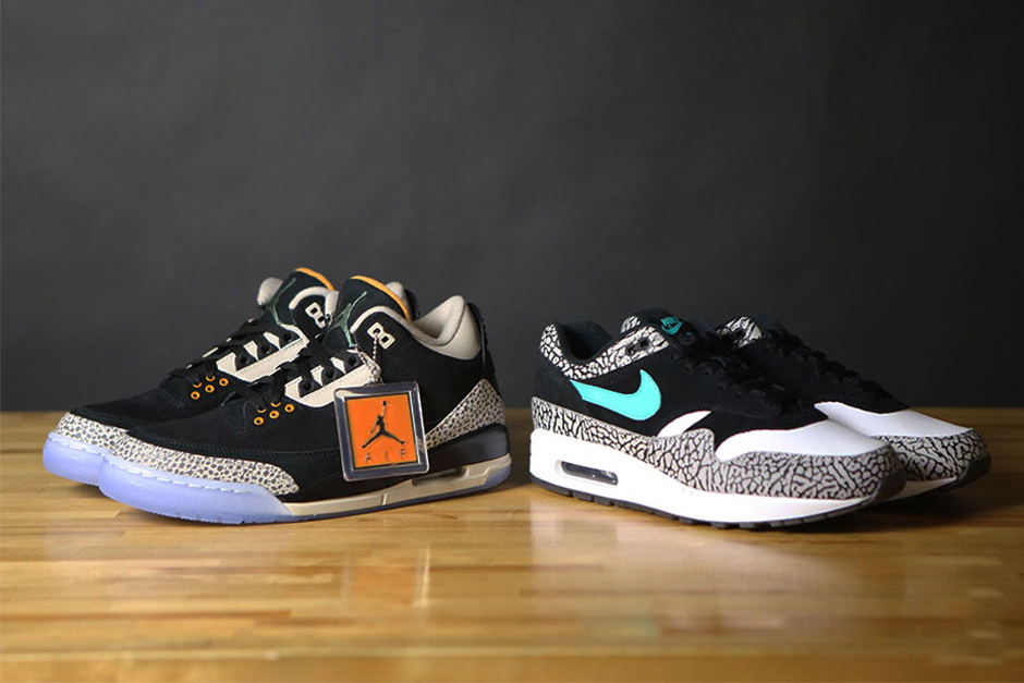 e3067606750 Nike Air Max 1 Supreme Atmos Safari