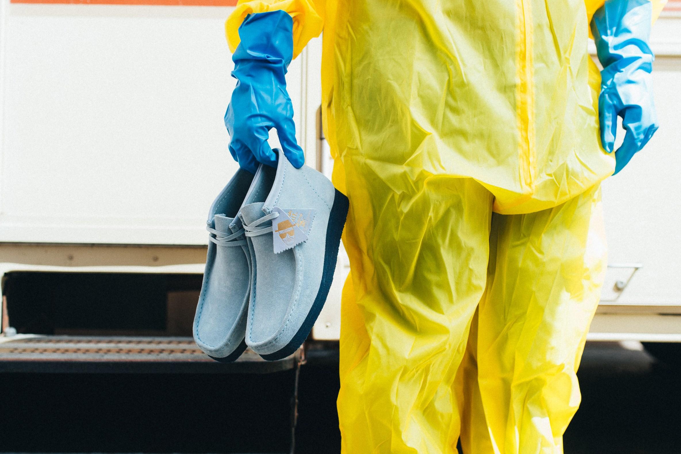 Vístete como Walter White con estos nuevos zapatos de BAIT x Breaking Bad