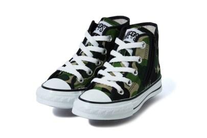 #hypebeastkids: BAPE's Camo Sneakers Bring Big Hype to Little Feet