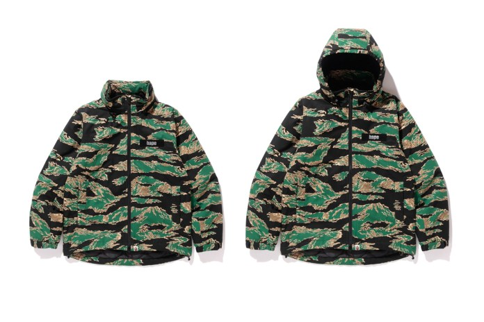 BAPE Unleashes Its Original Tiger Camouflage Pattern in Latest Collection