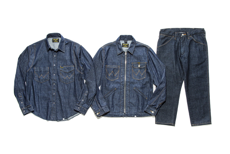 BEDWIN THE HEARTBREAKERS Wrangler 2017 Spring Summer Capsule Collection