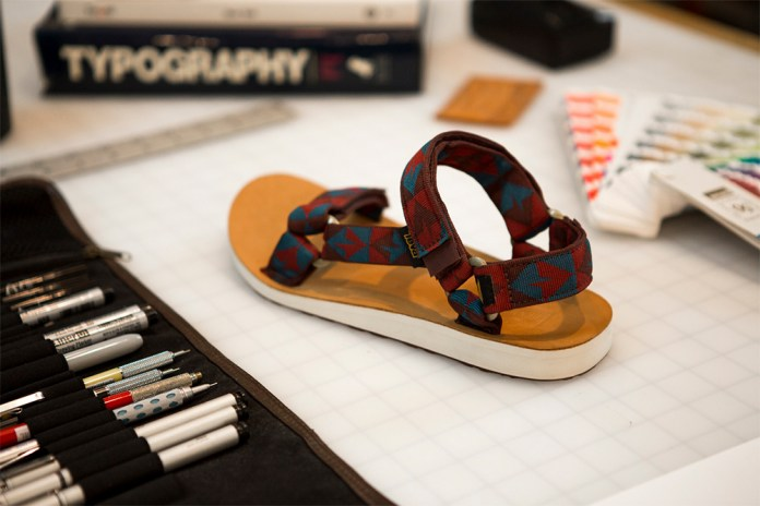 Benny Gold Teams up With Teva for Artist Series Sandals