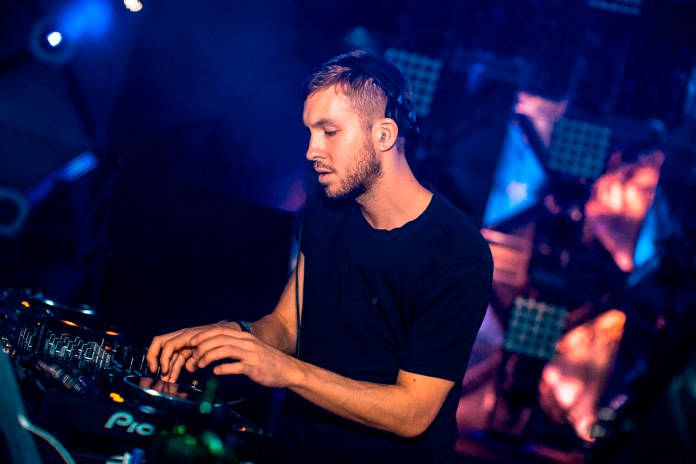 "Calvin Harris Shows Off His Beat-Making Skills For ""Slide"""