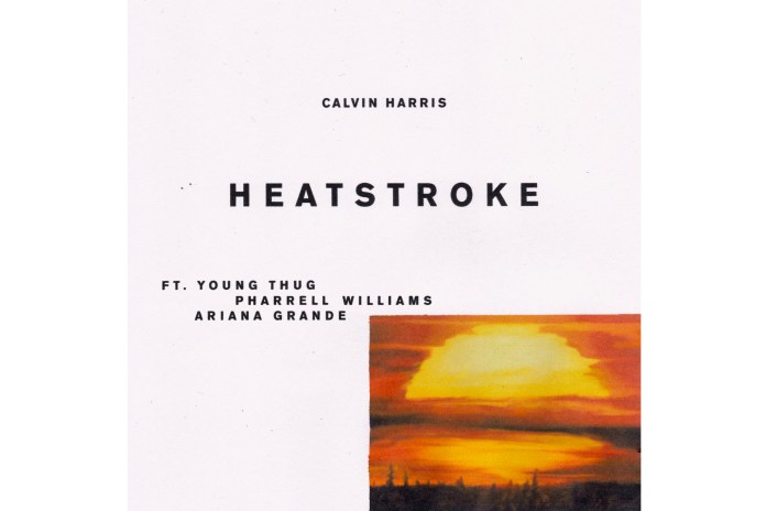Calvin Harris Teases Upcoming Single With Young Thug, Ariana Grande and Pharrell