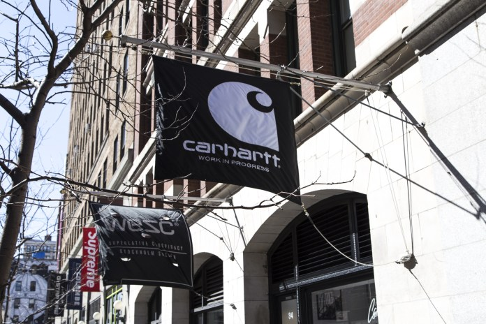 Carhartt WIP Opens Its New Flagship Store in NYC's SoHo District