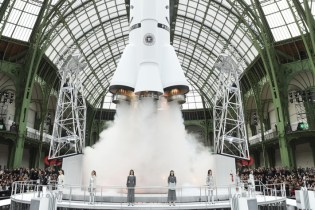 Karl Lagerfeld Literally Launched a Rocket at Chanel's Fall/Winter 2017 Show