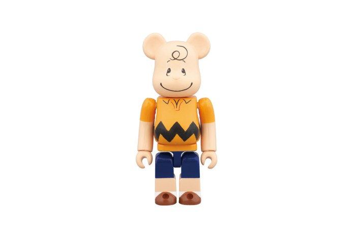 Peanuts & Medicom Join Forces on the Limited Edition Charlie Brown Bearbrick