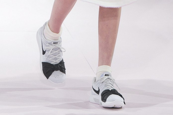 COMME des GARÇONS Debuts Its Nike Lunar Epic Flyknit During Paris Fashion Week